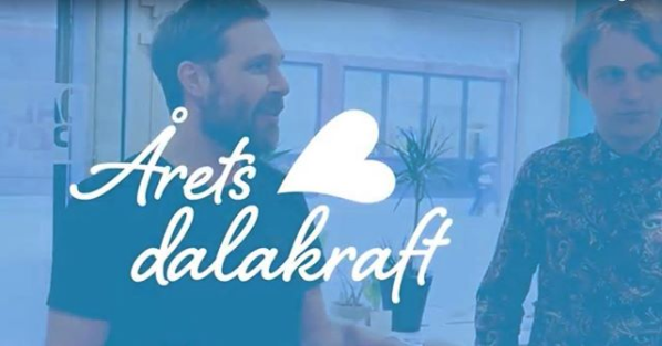 """Dalapop Nominerade Till """"Årets Dalakraft"""""""